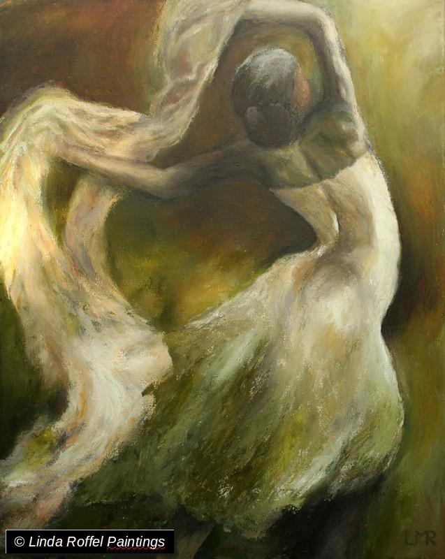 Aan de zwier, 100x80cm, Acrylic on canvas