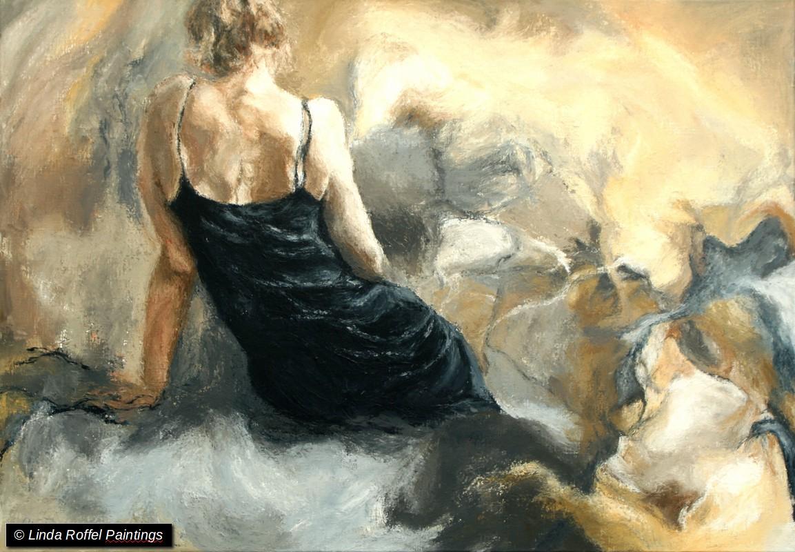 Een moment voor je zelf, 70x100cm, Acrylic on canvas