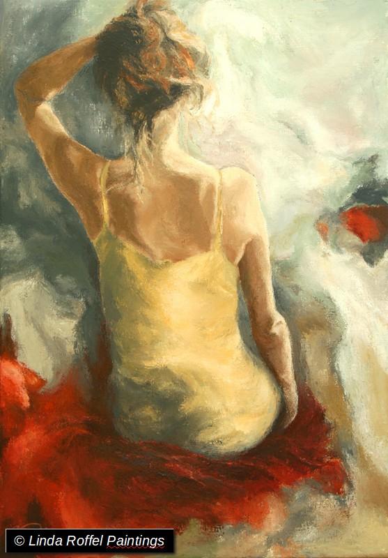 Lentegevoel, 120x70cm, Acrylic on canvas