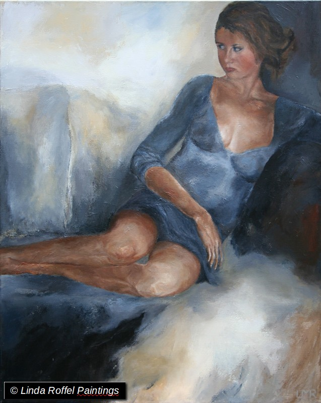 Marianne 100x80cm, Acrylic on canvas